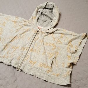 Paper wings size 4 organic lightweight zip up